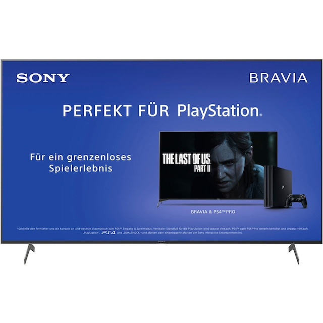 Sony KD85XH8096 Bravia LED-Fernseher (215 cm / (85 Zoll), 4K Ultra HD, Android TV
