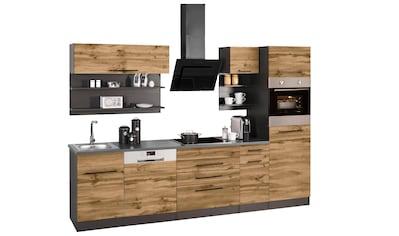 HELD MÖBEL Küchenzeile »Tulsa«, mit E - Geräten, Breite 290 cm kaufen