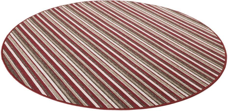 Teppich Chipmunk Living Line rund Höhe 7 mm maschinell gewebt
