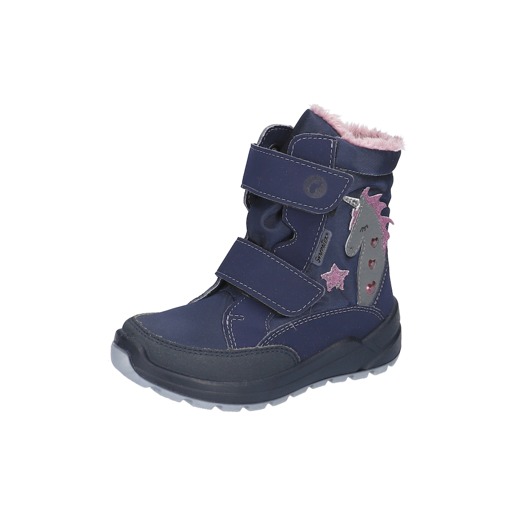 Ricosta Klettstiefel »Blinkschuh Annika WMS Schuhweiten Mess System: Weit«, mit Sympatex-Ausstattung