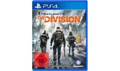UBISOFT Spiel »Tom Clancys The Division«, PlayStation 4, Software Pyramide kaufen