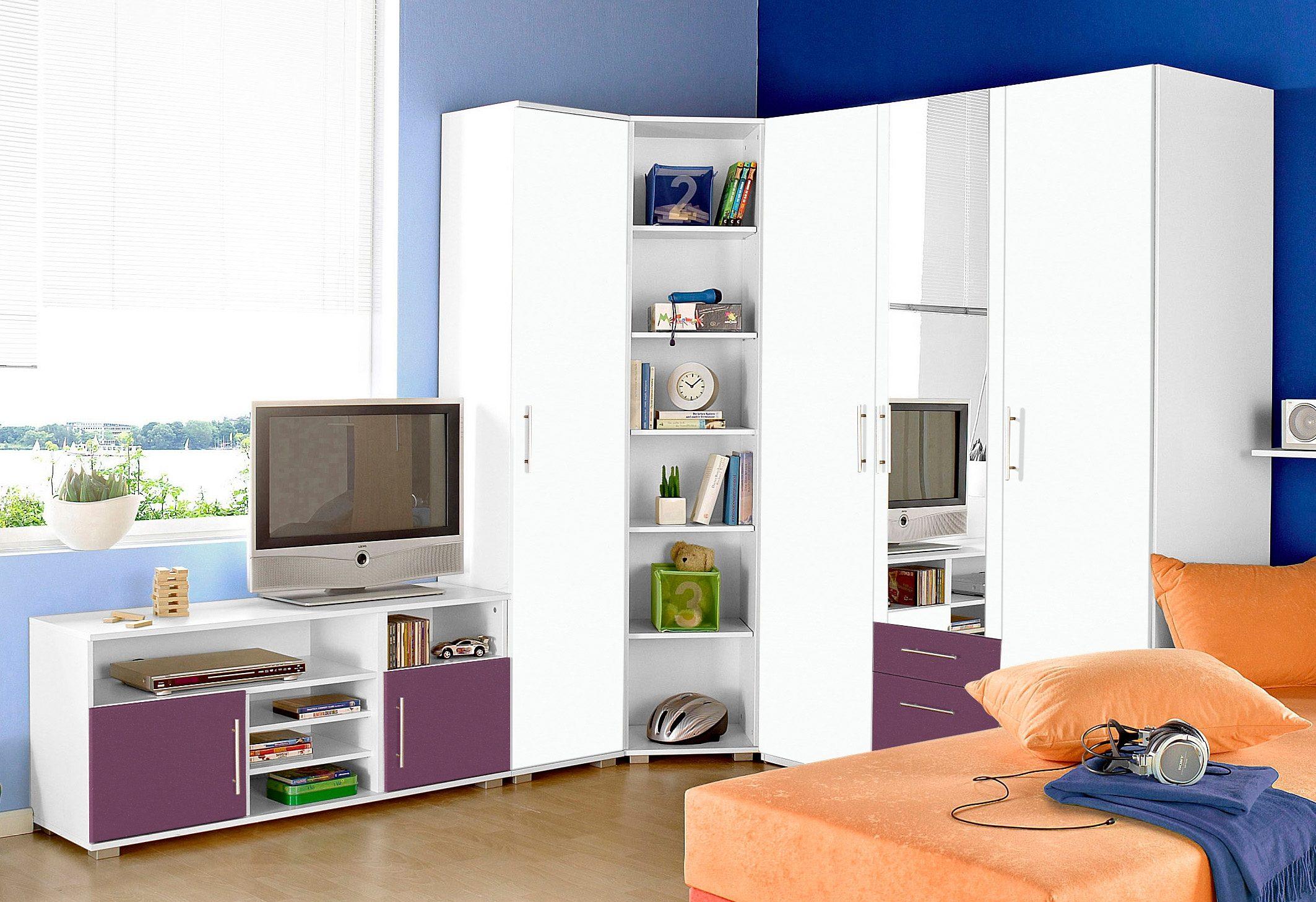 Jugendzimmer set 5 tlg kaufen baur for Jugendzimmer set
