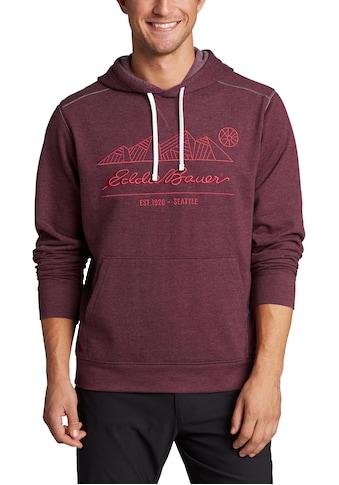 Eddie Bauer Kapuzensweatshirt, Camp Fleece mit gesticktem Logo kaufen