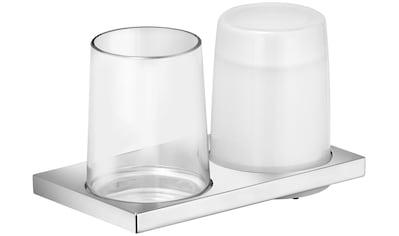 KEUCO Bad - Accessoire - Set »Edition 11«, Glas und Seifenspender aus Echtkristallglas kaufen