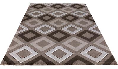Festival Teppich »Relax 220«, rechteckig, 11 mm Höhe, mit Konturenschnitt, Wohnzimmer kaufen