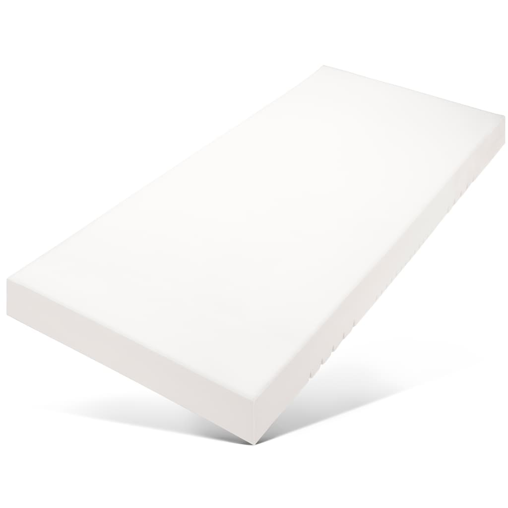 Älgdröm Komfortschaummatratze »Moälven«, (1 St.), Wendematratze: eine Liegeseite mit 7 Zoneneinschnitten und die andere ohne Einschnitte - geeignet für Kinder und alle, die besonders groß und klein sind!