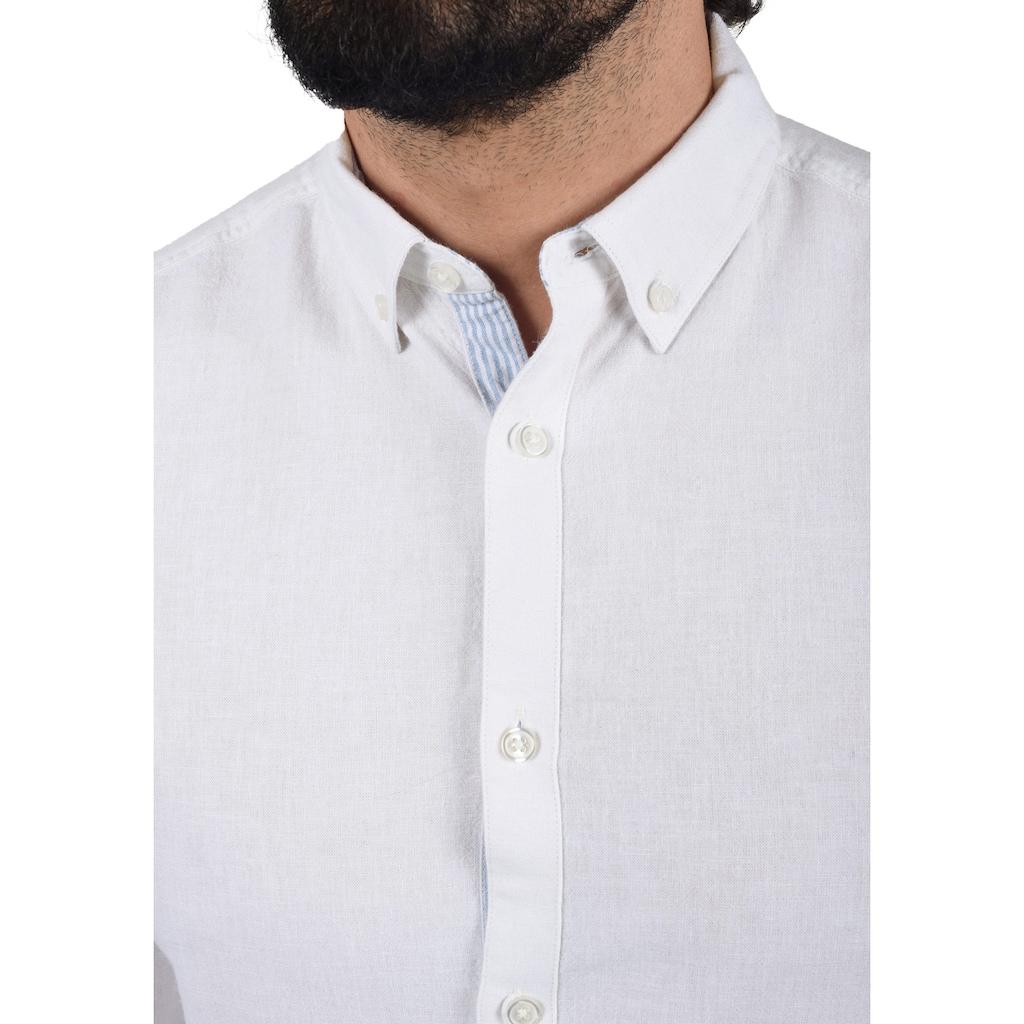 Indicode Langarmhemd »Luan«, Hemd mit Knopfleiste