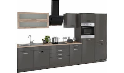 HELD MÖBEL Küchenzeile »Utah«, mit E-Geräten, Breite 350 cm kaufen