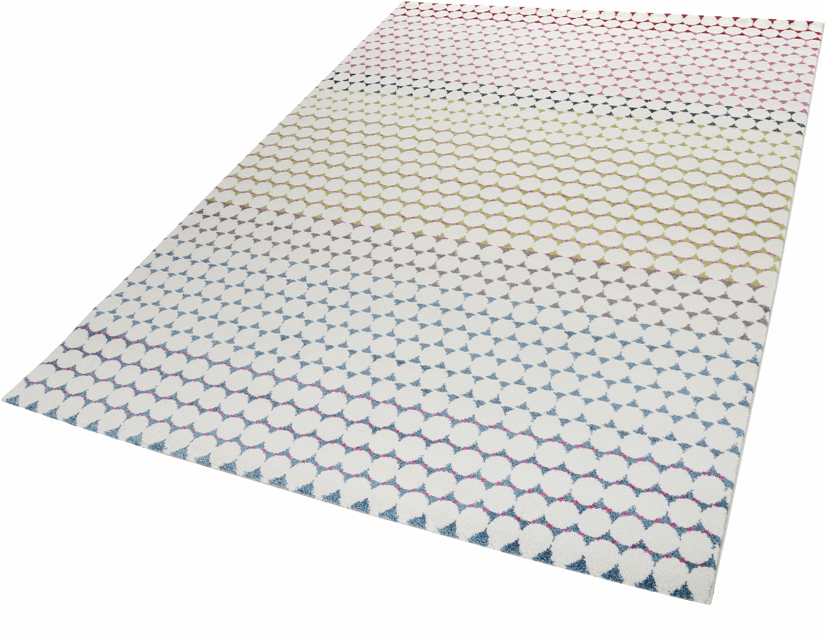 Teppich Happy Esprit rechteckig Höhe 13 mm