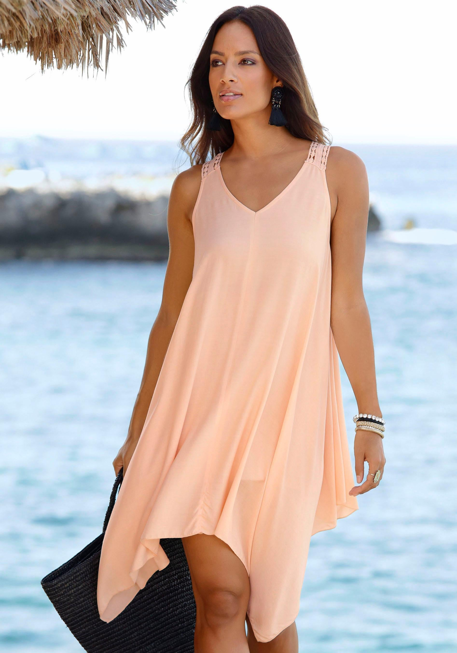 LASCANA Strandkleid Damenmode/Bekleidung/Kleider/Knielange Kleider