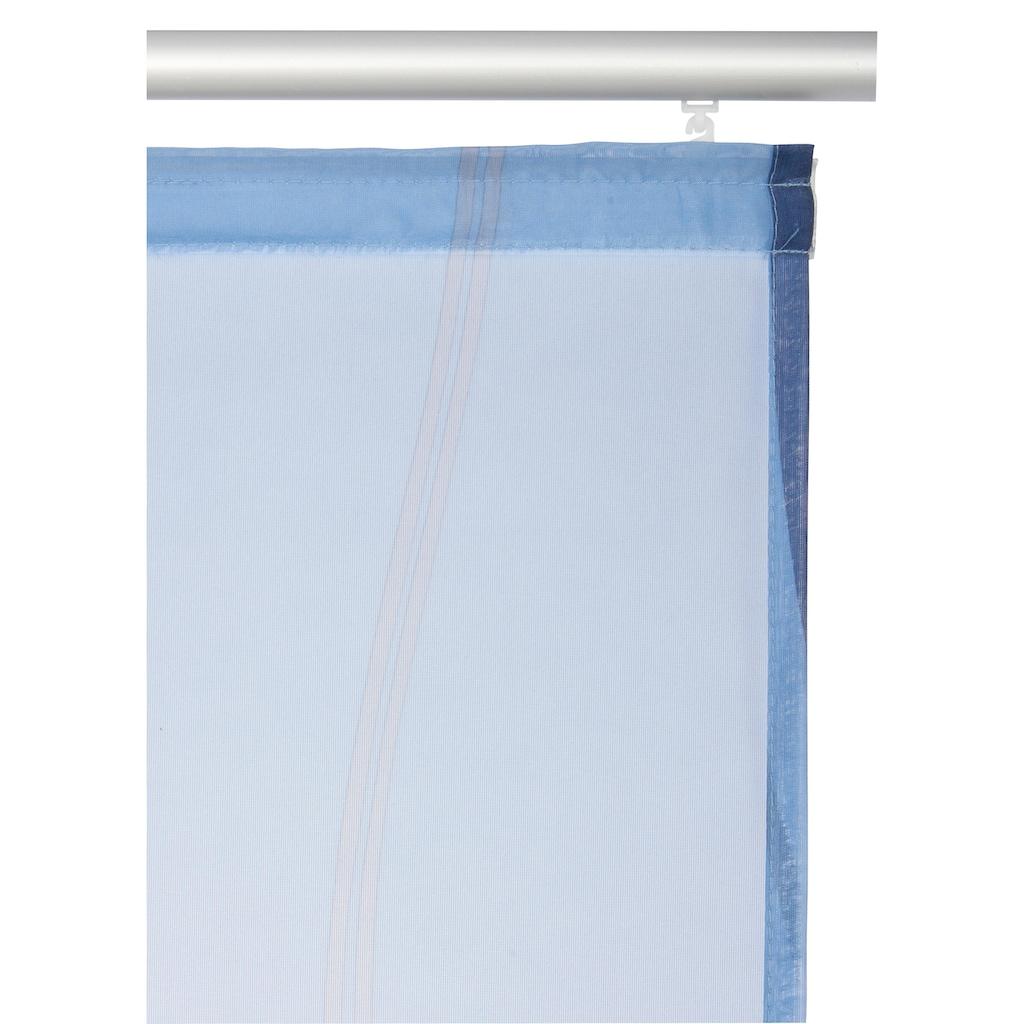 my home Schiebegardine »Dimona«, Fertiggardine, inkl. Befestigungszubehör, transparent