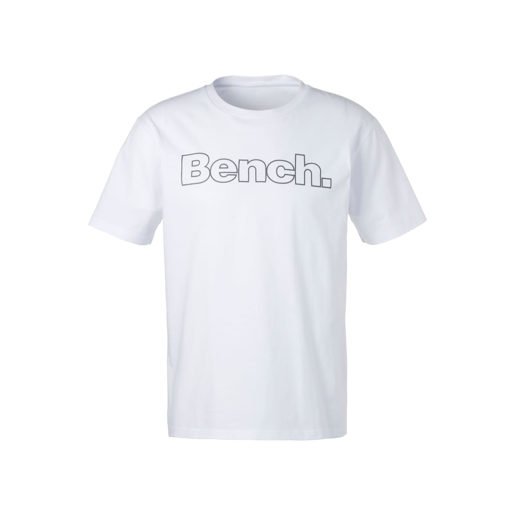 Bench. Kurzarmshirt »Homewear« (Packung, 2er-Pack)