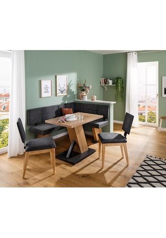 Home affaire Eckbankgruppe »Zeppelin«, (Eckbank, Tisch und 2 Stühle) kaufen