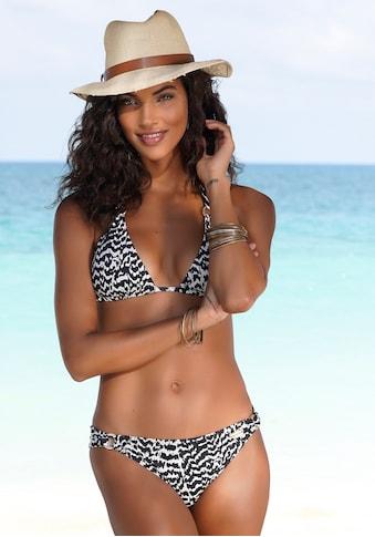 LASCANA Bikini-Hose »Clara«, mit Zierringen kaufen