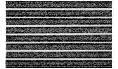 HANSE Home Fußmatte »Alustar«, rechteckig, 13 mm Höhe, Schmutzfangmatte, In- und... kaufen