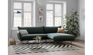 andas Ecksofa »Stine«, Besonderes Design durch Kissenoptik und Keder, Design by Morten Georgsen kaufen