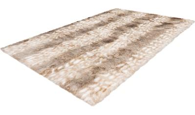 Hochflor - Teppich, »My Rumba 760«, Obsession, rechteckig, Höhe 35 mm, handgetuftet kaufen