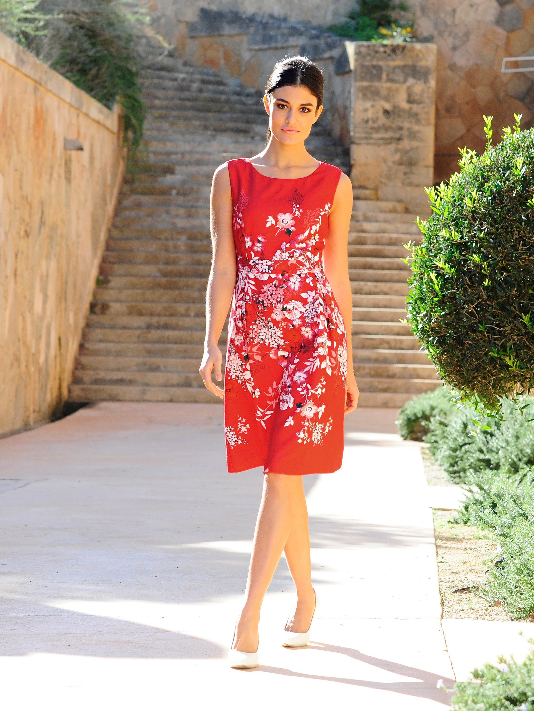 Alba Moda Kleid im floralen Print