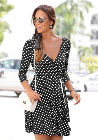 LASCANA Jerseykleid, in Wickeloptik kaufen