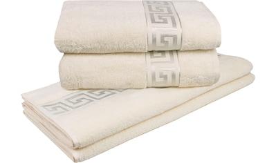 Handtuch Set, »Rhodos«, Delindo Lifestyle (Set) kaufen