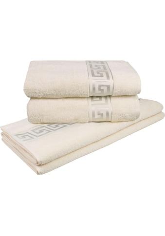Delindo Lifestyle Handtuch Set »Rhodos«, mit Bordüre kaufen
