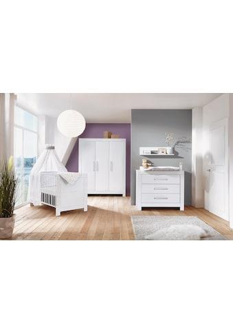 Schardt Babyzimmer-Komplettset »Nordic White«, (Set, 3 tlg.), Made in Germany kaufen
