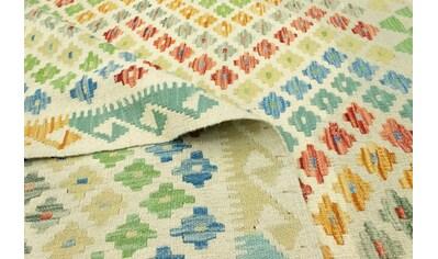 morgenland Wollteppich »Kelim Afghan Teppich handgewebt mehrfarbig«, rechteckig, 5 mm... kaufen