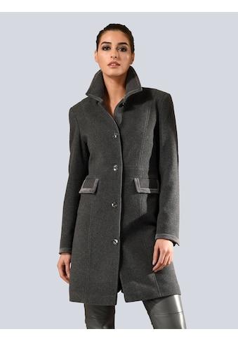 Alba Moda Mantel mit eleganter Samtpaspellierung kaufen