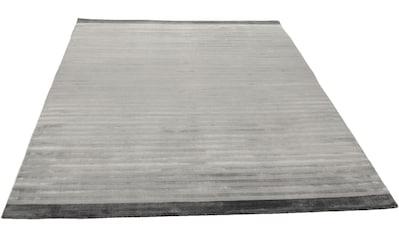 THEKO Teppich »Miami«, rechteckig, 8 mm Höhe, Obermaterial: 40%Wolle, 60% Viskose,... kaufen