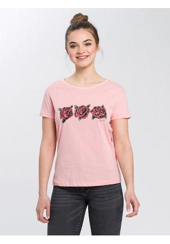 Cross Jeans® T-Shirt »55754«, Weicher Baumwolljersey kaufen