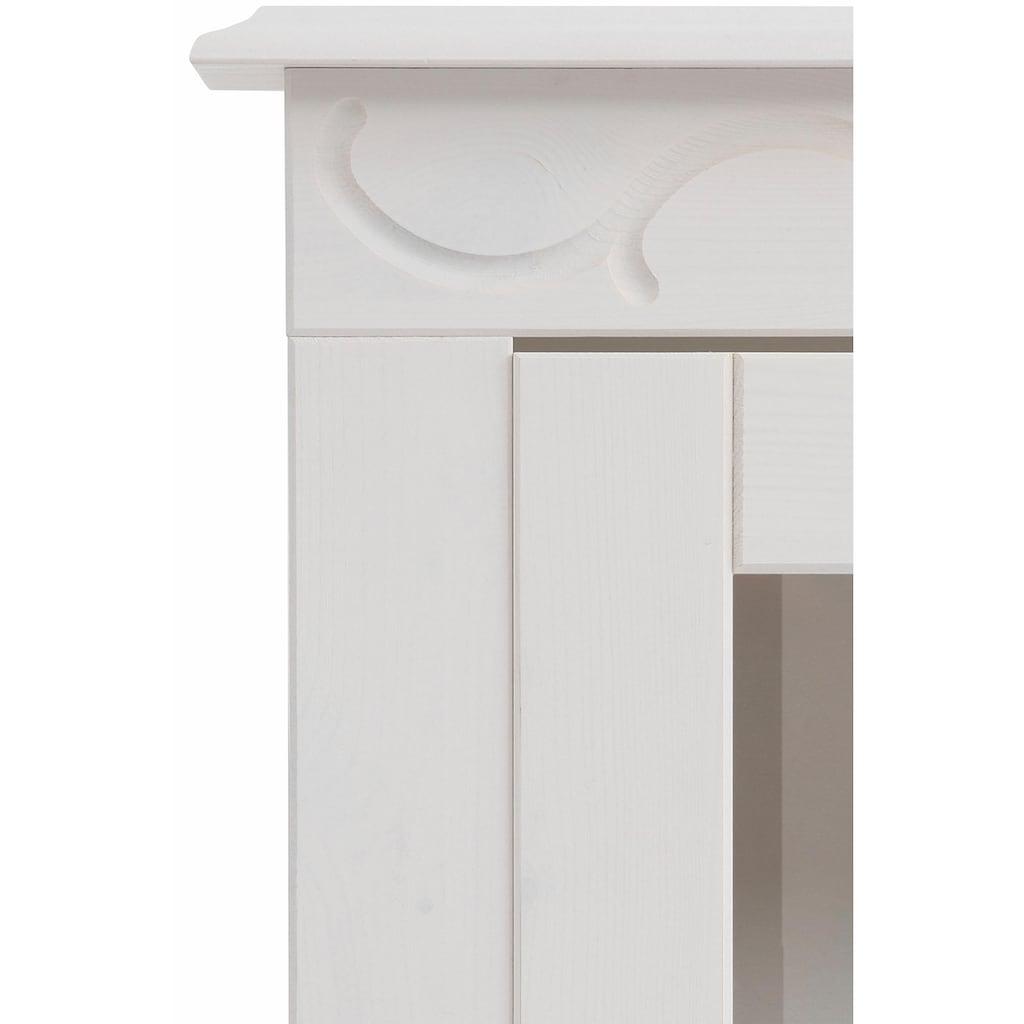 Home affaire Vitrine »Laura«, klein, Höhe 140 cm