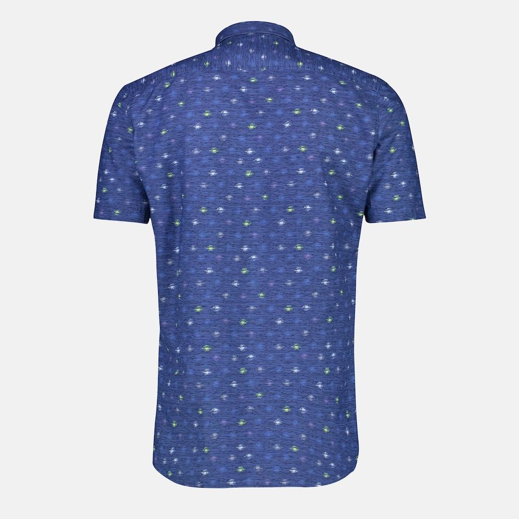 LERROS Kurzarmhemd, mit Alloverprint auf wertiger Baumwollqualität