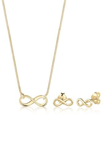 Elli Schmuckset »Infinity Unendlichkeit 375 Gelbgold« kaufen