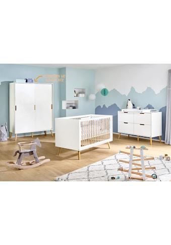 Pinolino® Babyzimmer-Komplettset »Edge«, (Set, 3 St.), extrabreit groß; mit... kaufen