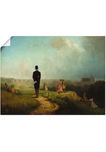 Artland Wandbild »Der Hagestolz«, Mann, (1 St.), in vielen Größen & Produktarten... kaufen