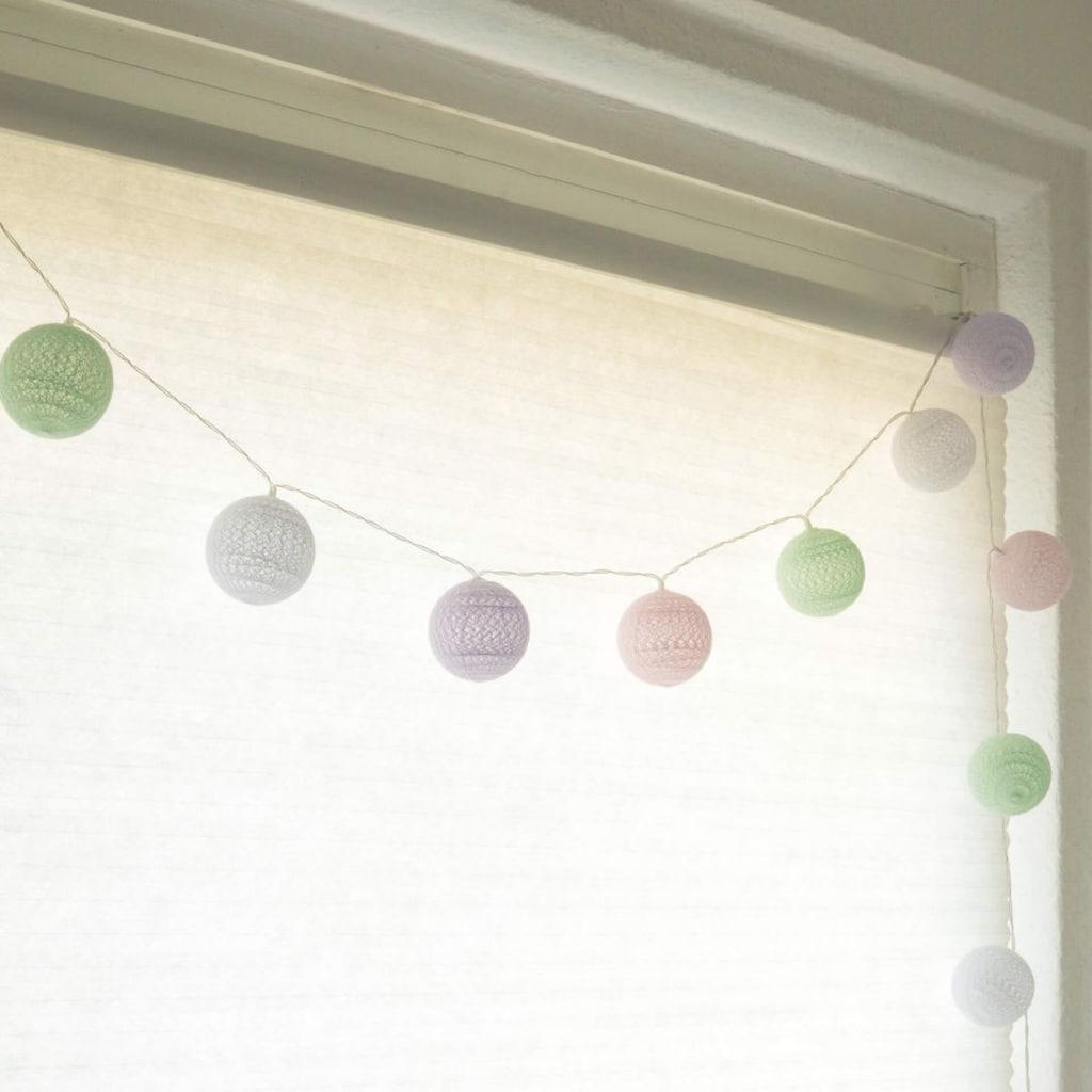 Wall-Art Hängedekoration »Kinderzimmer Lichterkette«