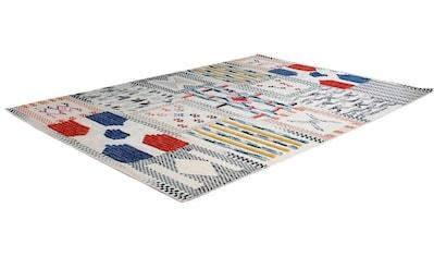 calo-deluxe Teppich »Evans 210«, rechteckig, 8 mm Höhe, Wolle mit Baumwolle, Wohnzimmer kaufen