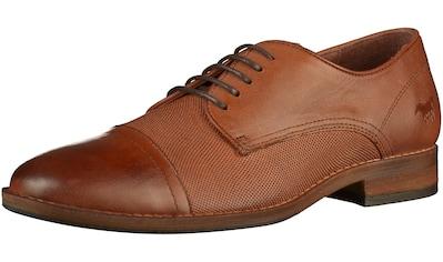 MUSTANG Schnürschuh »Leder« kaufen