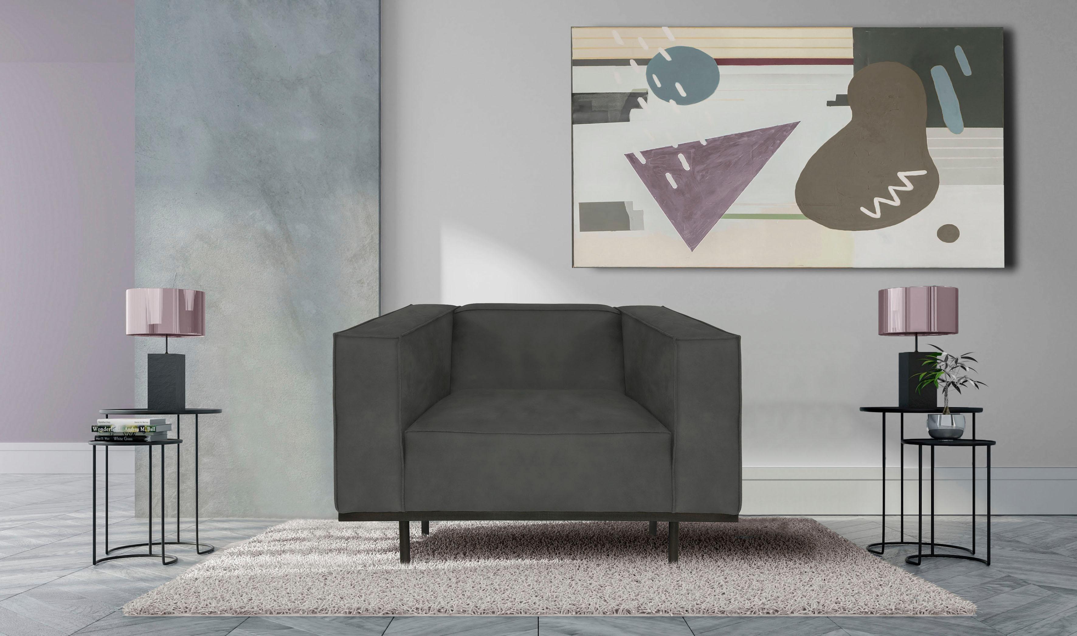 INOSIGN Panama Loveseat mit Keder Metallgestell in modernem Design