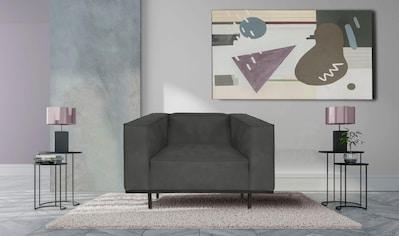 INOSIGN Sessel »Panama«, Loveseat mit Keder, Metallgestell, in modernem Design kaufen
