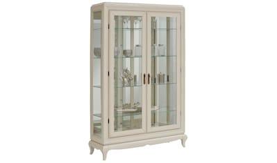 DELAVITA Vitrine »Sonata«, mit ornamentreichen Verzierungen im Glas kaufen
