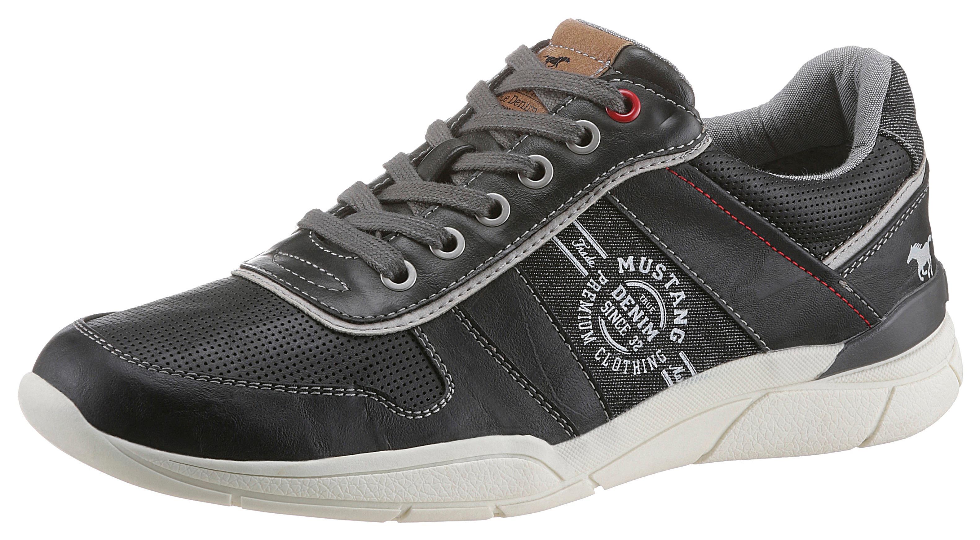 mustang shoes -  Sneaker, mit herausnehmbarer Innensohle