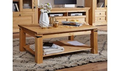 Premium collection by Home affaire Couchtisch »Brasilia«, aus Massivholz, hochwertig... kaufen