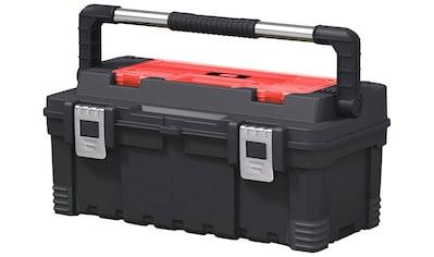KETER Werkzeugkasten »Hawk«, 54x28x24 cm, 24 l Fassungsvermögen kaufen