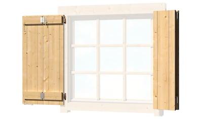 OUTDOOR LIFE PRODUCTS Fensterladen , BxH: 88x88 cm, für Gartenhaus »Colorado« kaufen