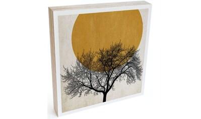 Wall-Art Holzbild »Tischdeko Wintermorgen«, (1 St.) kaufen