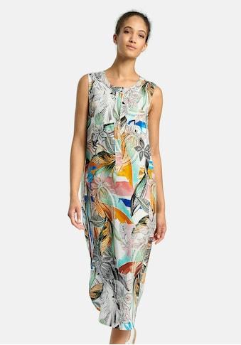 Peter Hahn Sommerkleid »aus 100% Leinen«, mit Ziernähten kaufen