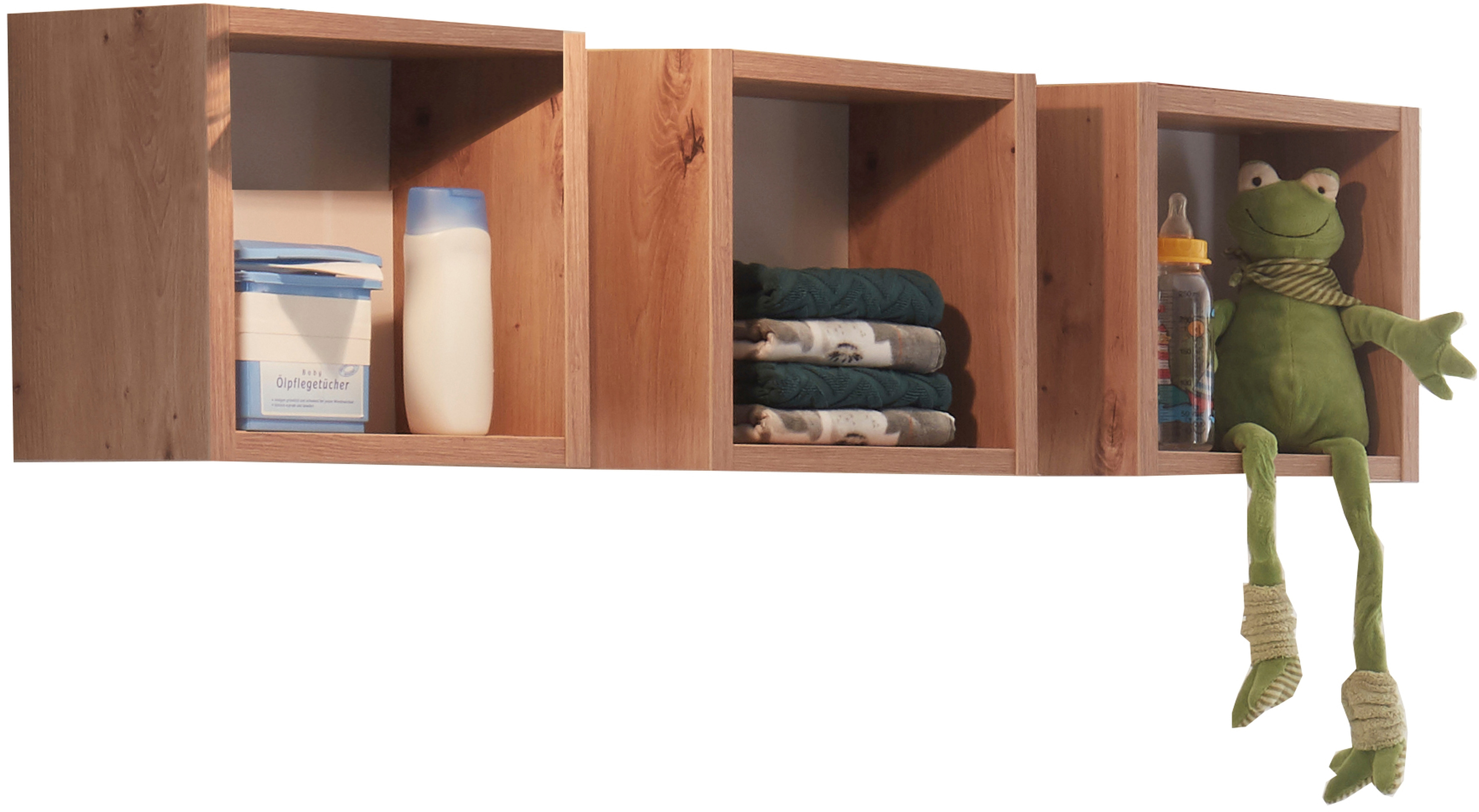 Hängeregal Cordula, (Set, 3 St.) beige Hängeregale Wandregale Wandboards Regale