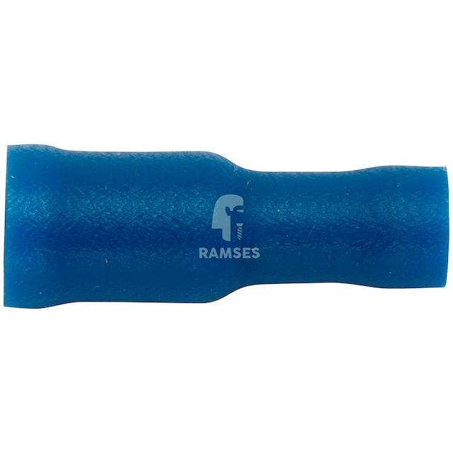RAMSES Rundsteckhülsen-Set , vollisoliert blau 5 mm 1,5 - 2,5 mm² 100 Stück