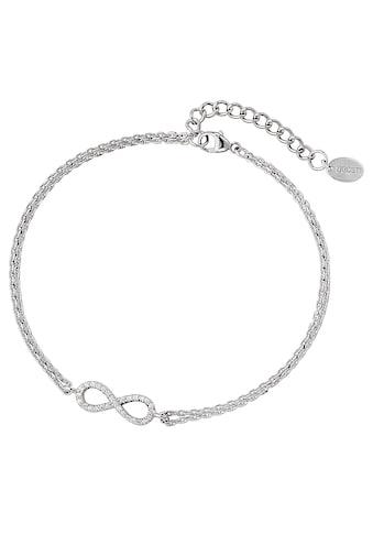 DOOSTI Silberarmband »Infinity/Unendlichkeitsschleife, SI - B - 07 - RH« kaufen